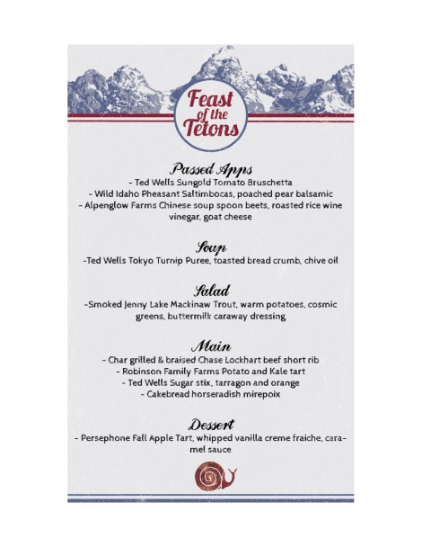Feast of the Tetons